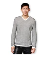 I-N-C Mens Zirconia Tonal Stripe Pullover Sweater