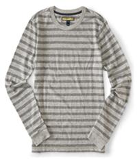 Aeropostale Mens Striped Ls Graphic T-Shirt