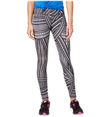 Energie Womens Jacey Printed Compression Athletic Pants