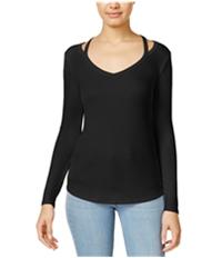 Energie Womens Cold Shoulder Basic T-Shirt