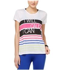 Energie Womens Surplice-Back Graphic T-Shirt