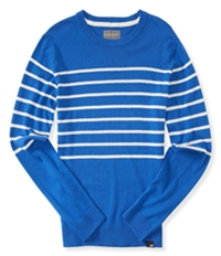 Aeropostale Mens Striped Knit Pullover Sweater