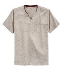 I-N-C Mens Static Shock Henley Shirt