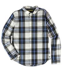 Aeropostale Mens Plaid Ls Button Up Shirt