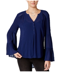 American Rag Womens Bell-Sleeve Knit Blouse