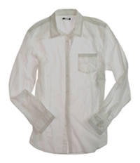 Bar Iii Mens Stitched Button Up Shirt