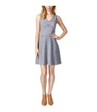 Maison Jules Womens Fit & Flare Tank Sweater Dress