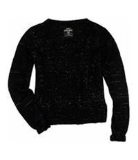 Ecko Unltd. Womens Open Neck Cable Knit Pullover Sweater