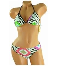 Raisins Womens Reversable Lowrider 2 Piece Bikini