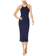 French Connection Womens Midi Bodycon Dress