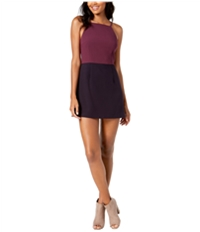 French Connection Womens Colorblocked Bodycon Dress