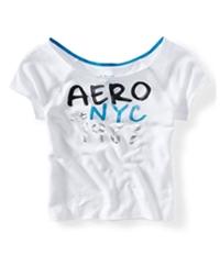 Aeropostale Womens Ss Sleep Sweatshirt