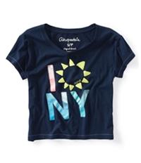 Aeropostale Womens Sunflower Graphic T-Shirt