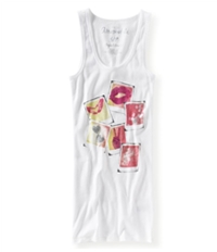 Aeropostale Womens Racer Back Pictures Tank Top