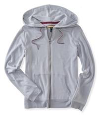 Aeropostale Womens Elevated Fz Hoodie Sweatshirt