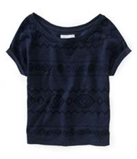 Aeropostale Womens Southwest Dolman Knit Sweater