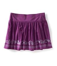Aeropostale Womens Vine Knit Mini Skirt