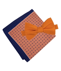 Tommy Hilfiger Mens Solid Micro-Neat Neck Tie Set