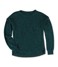 Aeropostale Girls Marled Hi-Lo Pullover Sweater
