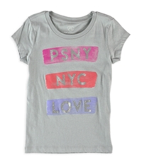 Aeropostale Girls Nyc Love Graphic T-Shirt