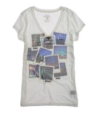 Ecko Unltd. Womens Sublimation Party Photo Graphic T-Shirt