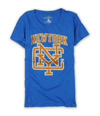 Ecko Unltd. Womens Sports Ny Crew Nk Bling Graphic T-Shirt