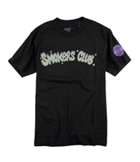 Ecko Unltd. Mens Smoked Up Smokers Club Graphic T-Shirt