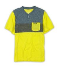 Ecko Unltd. Mens Nep Colorblock Henley Shirt