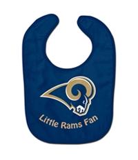Nfl Team Apparel Boys Little Rams Fan Bib