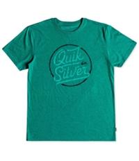 Quiksilver Mens Circle Of Script Graphic T-Shirt