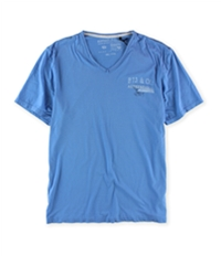 Buffalo David Bitton Mens Authentic V Neck Graphic T-Shirt