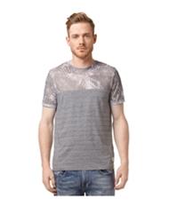 Buffalo David Bitton Mens Nalmetto Mesh Yoke Graphic T-Shirt