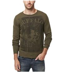Buffalo David Bitton Mens Wicrane Print Pullover Sweater