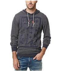 Buffalo David Bitton Mens Waslub Stripe Hoodie Sweatshirt