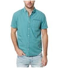 Buffalo David Bitton Mens Pocket Button Up Shirt