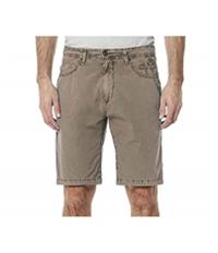 Buffalo David Bitton Mens 6 Pocket Casual Bermuda Shorts