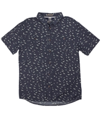 Quiksilver Mens Wake Sea Button Up Shirt