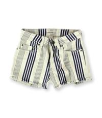 Roxy Womens Stripy Eighty Casual Denim Shorts