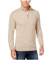 Weatherproof Mens 1/4 Zip Solid Pullover Sweater