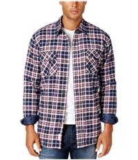 Weatherproof Mens Vintage Plaid Shirt Jacket