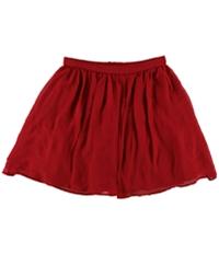 Bee Darlin Womens Mixed Media A-Line Skirt