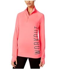 Material Girl Womens Active Half-Zip Track Jacket