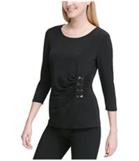 Calvin Klein Womens Lacing Pullover Blouse