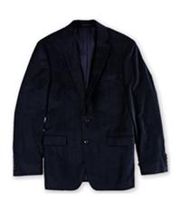 Calvin Klein Mens Slim-Fit Velvet Two Button Blazer Jacket
