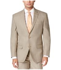 Sean John Mens Plaid Two Button Blazer Jacket