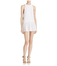 Free People Womens Breathless Moments High-Low Tunic Dress