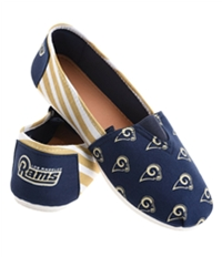 Forever Collectibles Womens La Rams Espadrille Flats