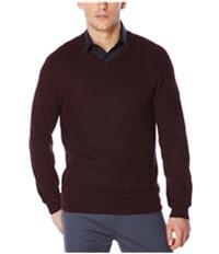 Perry Ellis Mens Loop-Pattern Pullover Sweater