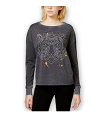 Rampage Womens Leopard Graphic T-Shirt