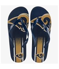 Forever Collectibles Unisex La Rams Flip Flop Sandals